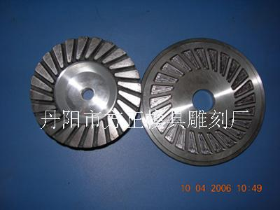 Diamond grinding wheel mould pressing